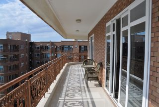 Balcony of a Masaki Furnished Apartments by Tanganyika Estate Agents
