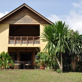 The Back View of the One Bedroom House for Sale in Usa River by Tanganyika Estate Agents