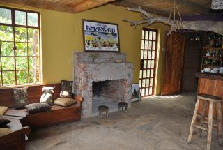 One of the fireplaces of the One Bedroom House for Sale in Usa River by Tanganyika Estate Agents