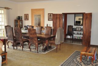 Dining Room of the 3 Bedroom House for Sale in Arusha by Tanganyika Estate Agents