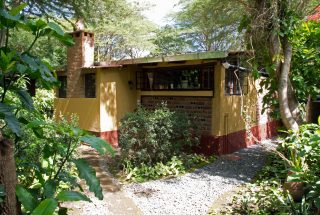 Staff Quarters Garden of the 5 Bedroom House for Sale in Sakina, Arusha by Tanganyika Estate Agents