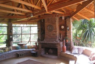Fireplace of the Five Bedroom House for Sale in Mateves, Arusha by Tanganyika Estate Agents