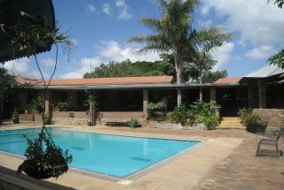 The Pool of the Five Bedroom House for Sale in Mateves, Arusha by Tanganyika Estate Agents