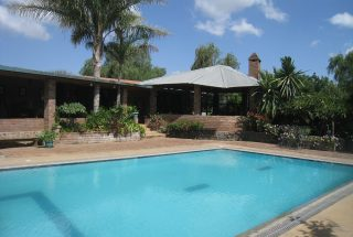 Swimming Pool of the Five Bedroom House for Sale in Mateves, Arusha by Tanganyika Estate Agents
