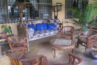 Veranda of the Five Bedroom House for Sale in Mateves, Arusha by Tanganyika Estate Agents