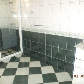 Bathroom of the Four Bedroom Furnished Villas in Mikocheni Dar es Salaam by Tanganyika Estate Agents