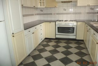 Kitchen of the Four Bedroom Furnished Villas in Mikocheni Dar es Salaam by Tanganyika Estate Agents
