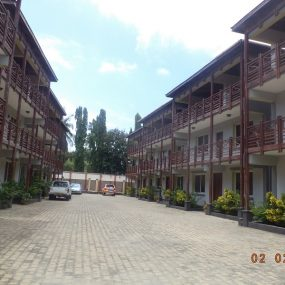 Parking Lot of the Four Bedroom Furnished Villas in Mikocheni Dar es Salaam by Tanganyika Estate Agents