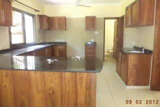Kitchen of the Four Bedroom House in Oyster Bay Dar es Salaam by Tanganyika Estate Agents