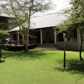 The Back View of the Four Bedroom House for Sale in Kili Golf, Arusha by Tanganyika Estate Agents