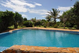 The Swimming Pool of the Furnished House South of Dar es Salaam