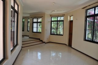 Corridor of a Standalone House for Rent in Oysterbay by Tanagayika Estate Agents