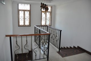 The Staircase of Standalone House for Rent in Oysterbay by Tanganyika Estate Agents