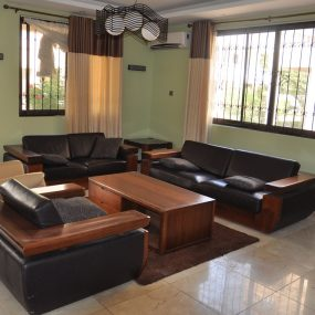 Living Room in Furnished VIlla in Masaki by Tanganyika Estate Agents