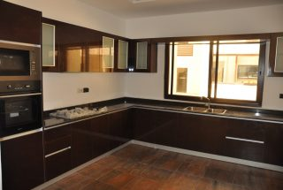 Kitchen of Furnished Villa on Toure Drive in Masika by Tanganyika Estate Agents