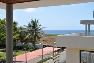View from Furnished Villa on Toure Drive in Masika by Tanganyika Estate Agents