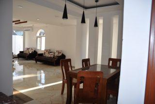 Dining Room Slipway Villas Dar Es Salaam by Tanganyika Estate Agents