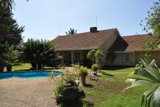 Pool & House of the 5 Bedroom Home for Sale in Njiro PPF, Arusha by Tanganyika Estate Agents