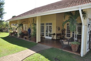 Veranda of the 5 Bedroom Home for Sale in Njiro PPF, Arusha by Tanganyika Estate Agents