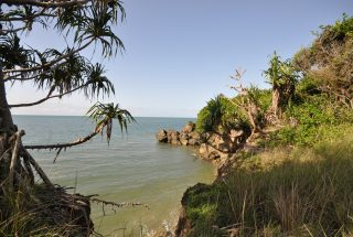 The Ocean from the Oceanfront Land for Sale in Amboni Bay by Tanganyika Estate Agents