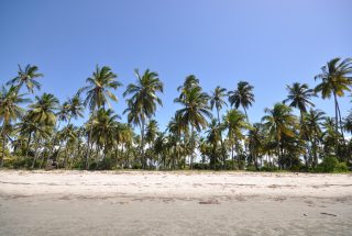 The Beach of the Beachfront Land for Sale in Sange by Tanganyika Estate Agents