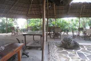 Dining Area of the Eco Friendly Lodge for Sale, Dar es Salaam by Tanganyika Estate Agents