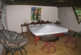 One of the Bedrooms of the Eco Friendly Lodge for Sale, Dar es Salaam by Tanganyika Estate Agents
