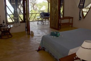 Bedroom of the Eco Friendly Lodge for Sale, Dar es Salaam by Tanganyika Estate Agents