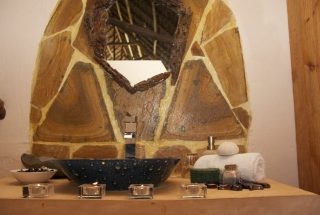 A Sink of the Eco Friendly Lodge for Sale, Dar es Salaam by Tanganyika Estate Agents