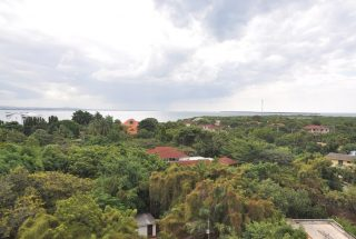 View From Balcony of the Two Bedroom Furnished Apartments in Masaki by Tanganyika Estate Agents