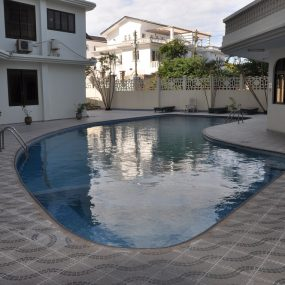 Swimming Pool of the 3 Bedroom Furnished Condos Dar es Salaam by Tanganyika Estate Agents