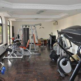 Gym of the 3 Bedroom Furnished Condos Dar es Salaam by Tanganyika Estate Agents