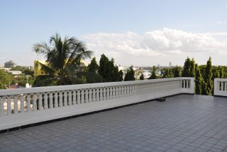 Rooftop Terrace of the 3 Bedroom Furnished Condos Dar es Salaam by Tanganyika Estate Agents