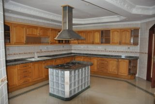 Kitchen of the 3 Bedroom Furnished Condos Dar es Salaam by Tanganyika Estate Agents