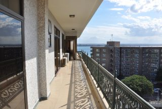 Balcony of the 3 Bedroom Furnished Condos Dar es Salaam by Tanganyika Estate Agents