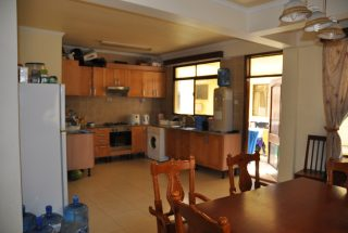 Kitchen & Dining Room of the Three Bedroom Furnished Apartments Masaki by Tanganyika Estate Agents