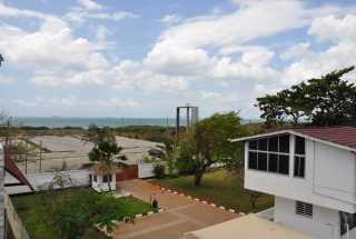 View from Balcony of the 4 Bedroom Furnished Flats in Masaki, Dar es Salaam by Tanganyika Estate Agents
