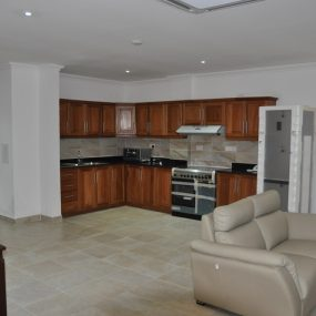 Kitchen of the 2 Bedroom Furnished Apartments in Masaki Dar es Salaam by Tanganyika Estate Agents