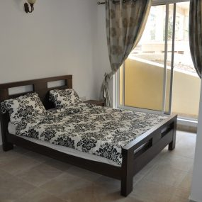 Bedroom of the 2 Bedroom Furnished Apartments in Masaki Dar es Salaam by Tanganyika Estate Agents