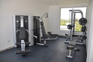 Gym of the 2 Bedroom Furnished Apartments in Masaki Dar es Salaam by Tanganyika Estate Agents