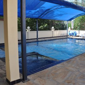 Swimming Pool of the 2 Bedroom Furnished Flats in Masaki in Dar es Salaam by Tanganyika Estate Agents