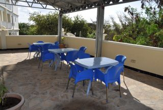Rooftop Terrace of the 2 Bedroom Furnished Flats in Masaki in Dar es Salaam by Tanganyika Estate Agents