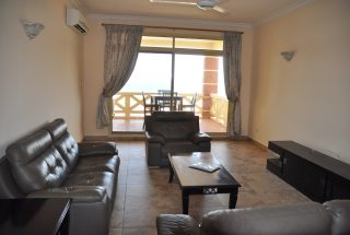 Living Room of the 2 Bedroom Furnished Flats in Masaki in Dar es Salaam by Tanganyika Estate Agents