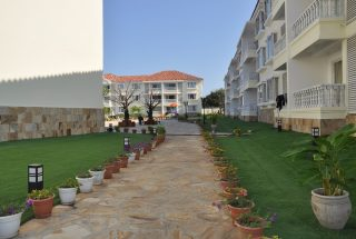 Walkway of the Furnished Apartments in Oyster Bay, Dar es Salaam by Tanganyika Estate Agents