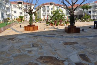 Garden of the Furnished Apartments in Oyster Bay, Dar es Salaam by Tanganyika Estate Agents