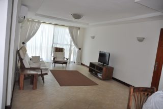 Living Room of the One Bedroom Furnished Apartments in Masaki by Tanganyika Estate Agents