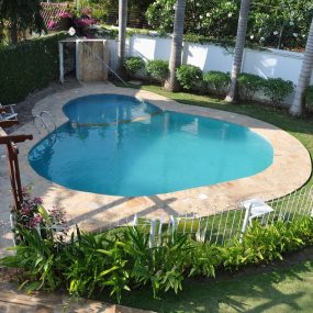 Communal Swimming Pool of the Three Bedroom Furnished Apartments in Dar es Salaam by Tanganyika Estate Agents