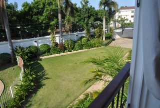 Garden of the Three Bedroom Furnished Apartments in Dar es Salaam by Tanganyika Estate Agents