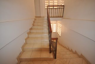 A Staircase of the Commercial Building for Sale in Sakina, Arusha by Tanganyika Estate Agents
