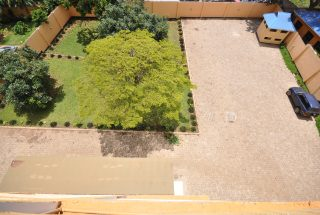 Parking Lot View from top of the Commercial Building for Sale in Sakina, Arusha by Tanganyika Estate Agents